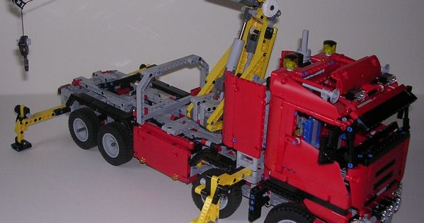 review lego technic 8258 camion grue lego technic pinterest. Black Bedroom Furniture Sets. Home Design Ideas