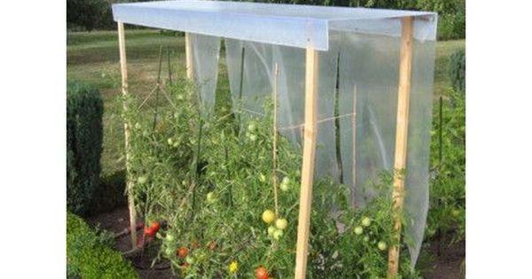 abris tomates pour les abriter de la pluie et les prot ger des maladies comme le mildiou g. Black Bedroom Furniture Sets. Home Design Ideas