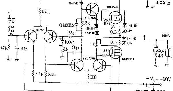 100 watt subwoofer for home circuit diagram