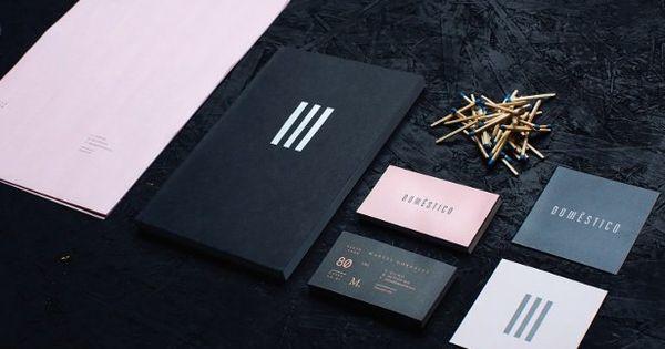 showcase dom 233 stico identity feature computer arts magazine design typography