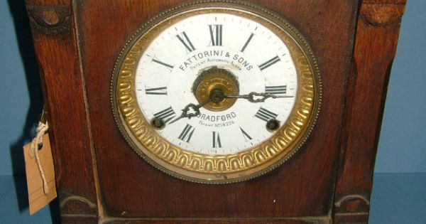 Edwardian Fattorini Amp Sons Patent Automatic Alarm By