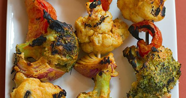 tandoori grilled vegetables - HIGHLY recommend! Really delicious and very flavorful!!! Yummy