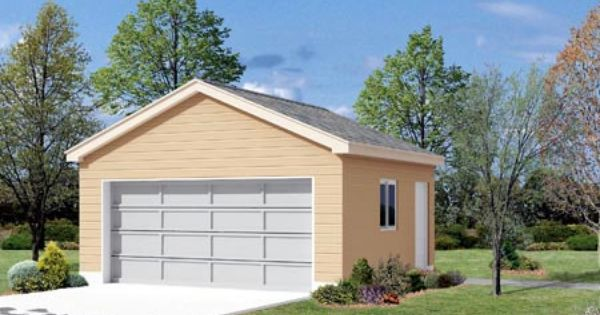 2 Car Garage Plan Number 87854 2 Car Garage Plans Garage Plan Garage Building Plans
