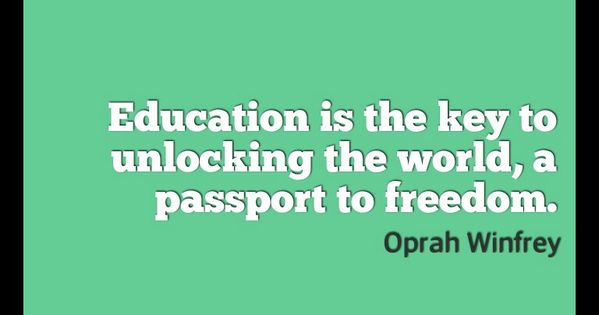Education Quotes On Pinterest: Education Quote