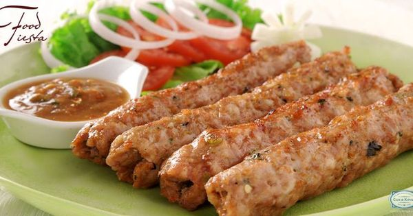 Made from spiced ‪‎chicken‬ mince, the chicken Seekh Kabab is ...