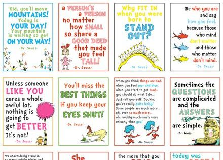 Love the Seuss quotes. | kids playroom ideas | Pinterest | Dr. Seuss ...