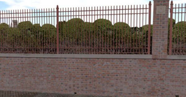 Wrought Iron Fence On Top Of Block Wall Google Search Wrought Iron Fences Iron Fence Fence