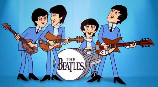 The Beatles Beatles Arte De Los Beatles Caricaturas