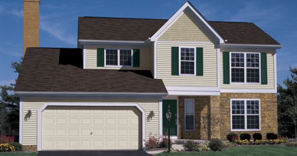 Ivory Parkview With Rye Portsmouth Shake And Stone Accents Parade Of Homes Design Your Home Vinyl Siding