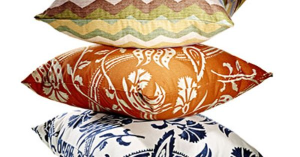 Decorative Pillows Marshalls : Brighten up any room with these patterened pillows For Alexis Pinterest Marshalls, Chic ...