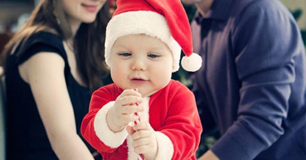 creative family Christmas portrait