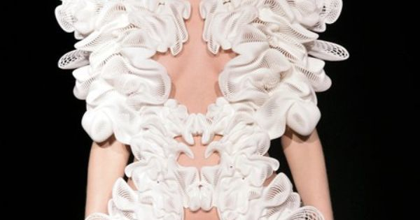 printing comes couture with insanely detailed dresses