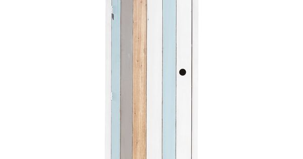 dressing cabine de plage en bois blanc l 60 cm dressing. Black Bedroom Furniture Sets. Home Design Ideas