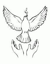 Desenhos Para Pintar Pomba Da Paz 172x222 Gif 172 222 Imagens