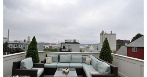 Modular roof deck furniture in boston dream home for Dream roof