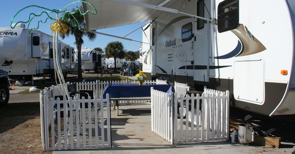 Fencing For The Dogs While Camping Rv Pinterest