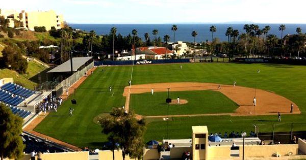 Pepperdine Baseball Stadium Malibu Ca Baseball Stadium Baseball Vacation