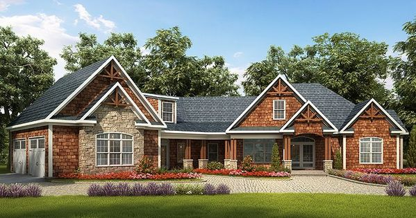 Craftsman House Plan 019h 0159 Love Everything About