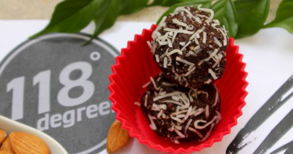 118 degrees vegan raw cacao truffles for 118 degrees raw food cuisine