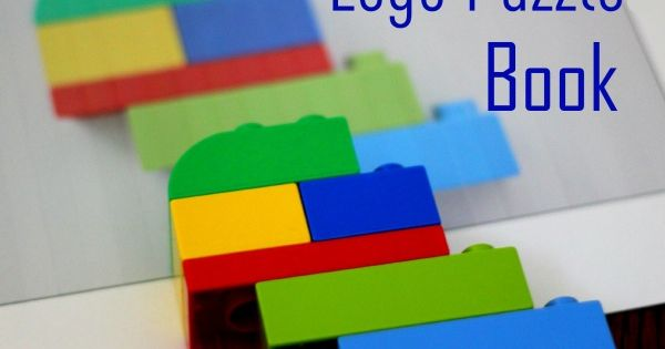Homemade Lego Puzzle Book - Kids Activities Blog- great idea for classroom