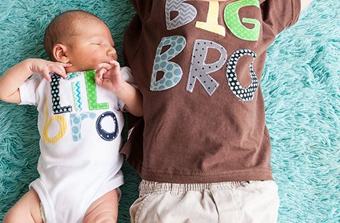 Big Brother Little Brother Little Sister Big Sister sibling shirts onesies set