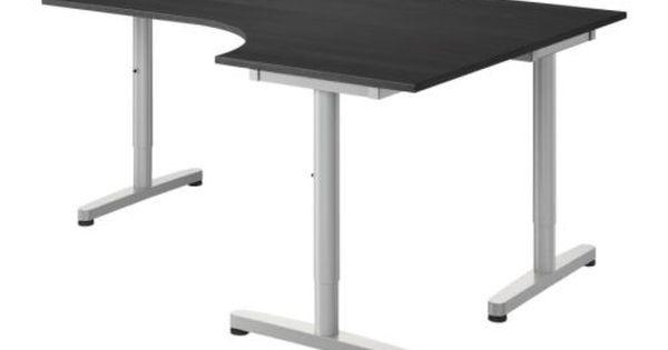 Amazing Ikea Galant Corner Desk In 2020 Ikea Galant Desk Dimensions Desk