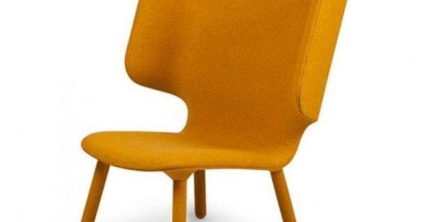... Nevvvorks  Tembo lounge stoel, geel  Woonkamer  Pinterest  Lounges
