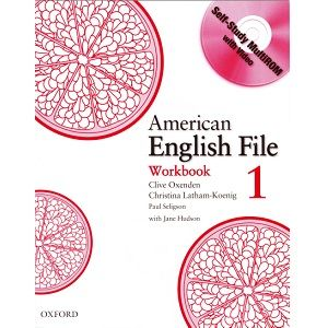 American English File 1 Workbook Libro Ingles Libros