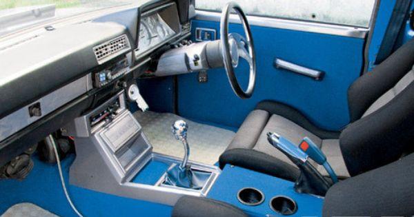 El Interior De La Nissan 720 Para El 2011 Si Fotolog Datsun Pickup Mini Trucks Datsun