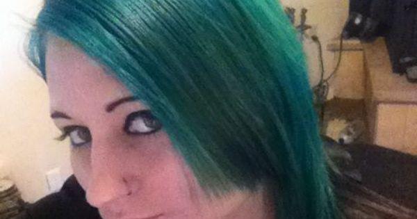 Splat Deep Emerald Green Hair Pinterest Emeralds