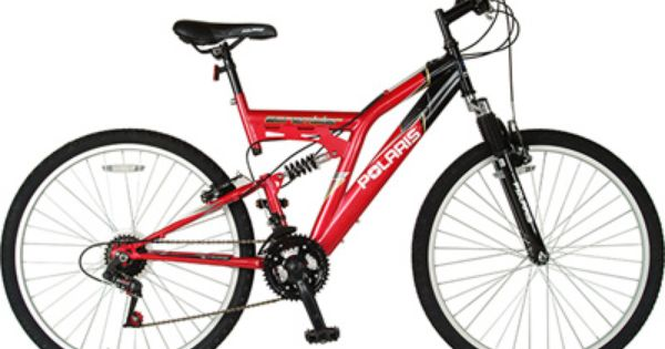 The Polaris Scrambler Is A Great Entry Level Mountain Bike With Twist Shifters V Brakes And A Comfy Mtb Sadd Mens Mountain Bike Mountain Bike Frames Bicycle
