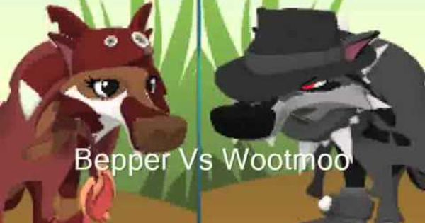 Animal Jam Bepper Vs Wootmoo Warning Cussing Dx With Images