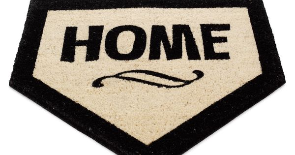 Home plate doormat. great gift idea