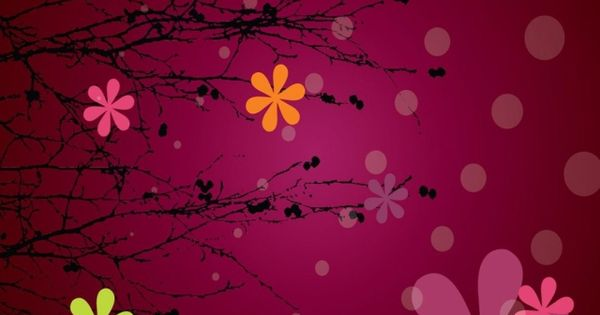 Pin By Ilikewallpaper Ios Wallpaper On Ipad Wallpapers: Pink Abstract Flowers #iPhone 5s #Wallpaper