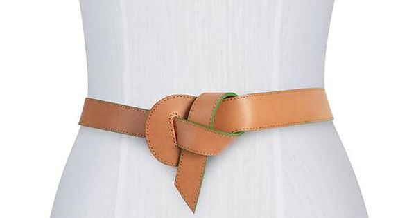 #Hive & Honey Leather Painted Edge Belt $50
