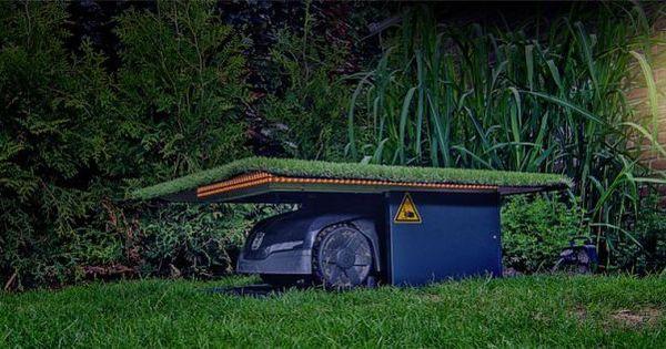 tiefgarage f r den m hroboter automower http. Black Bedroom Furniture Sets. Home Design Ideas