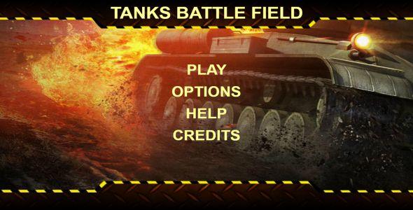 Tanks Battle Field Html 5 Game Mobile Optimised Battle Flag