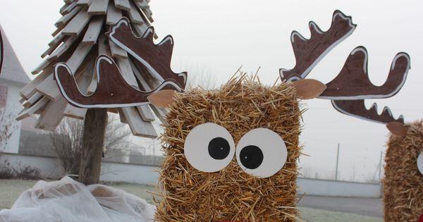 D cor maison no l rennes bottes de paille www for Decoration maison rennes