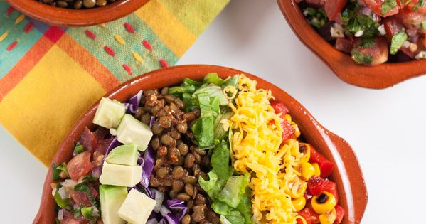... Taco Lentil Salad | Recipe | Lentil Tacos, Taco Salads and Lentils