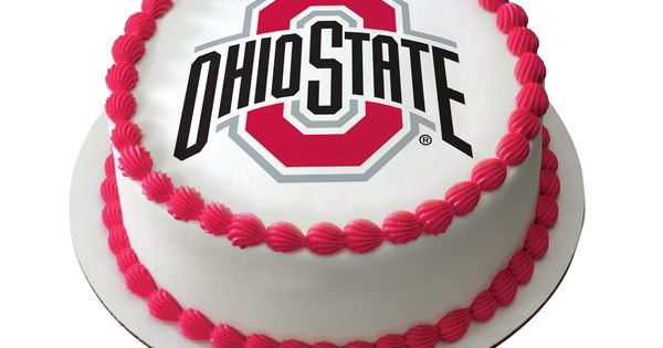 ohio state michigan wedding cake toppers go buckeyes the official ohio state cake is only 17977