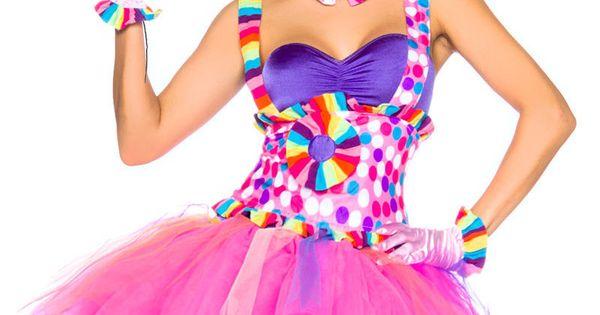details zu candy kost m cupcake fee kost m clown kost m damen karneval fasching feenkost m. Black Bedroom Furniture Sets. Home Design Ideas