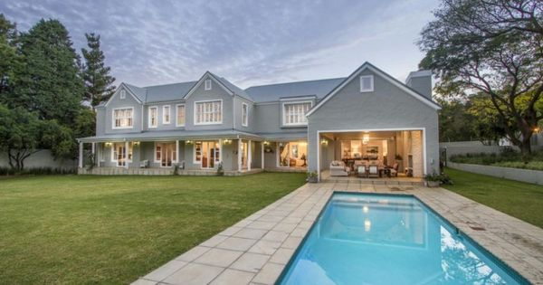 Bryanston east exquisite five bedroom french colonial for Colonial style homes for sale