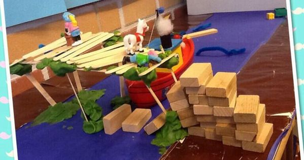 Wat een leuke uitdaging! Bouw een brug, via Twitter @Kleuterklas groep ...