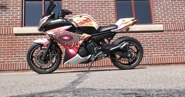 Yamaha Motorcycle Wrap Girls Have Fun Too Motorcycles