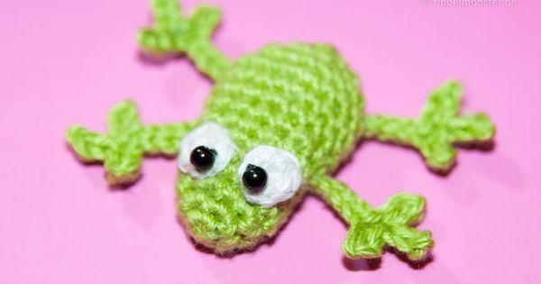Amigurumi - Frosch hakeln