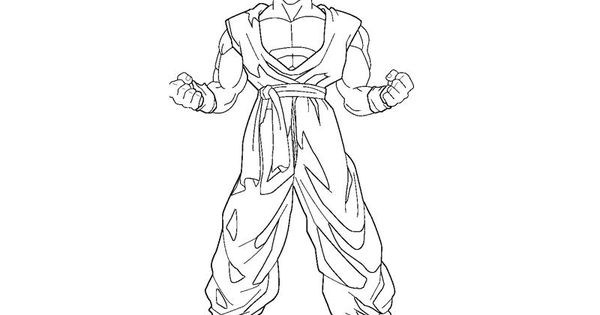 dbz son gohan coloring pages free printable