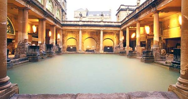 Baño romano.Los Romanos, se inspiraron de los Griegos para ...