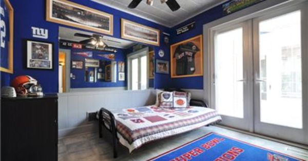 Ny Giants Man Cave Ideas : I guess this is a kids room but want for me