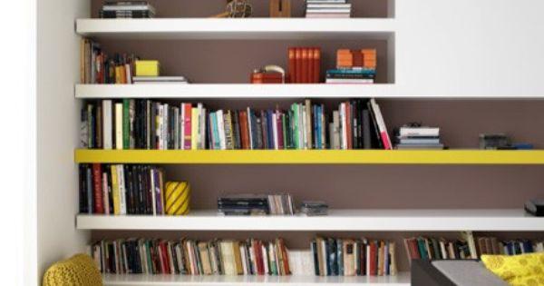 peindre une tag re m lamin en jaune bijoux tricot et crochet et planches. Black Bedroom Furniture Sets. Home Design Ideas