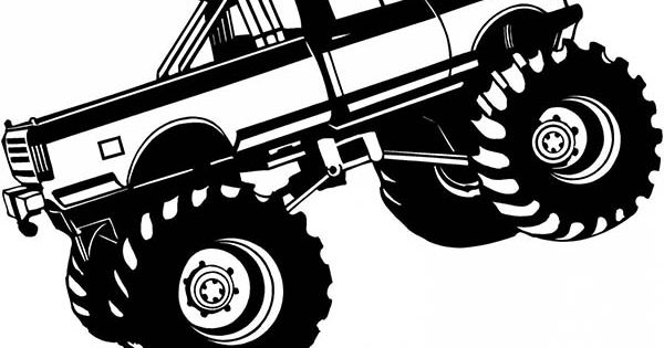 Son Uva Digger Monster Truck Coloring Page Daycare class